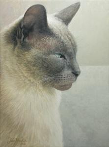 """""""Bluebelle"""", Acrylic on Canvas"""