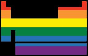 Chem LGBT logo by John Megahan