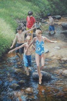 A summer stream