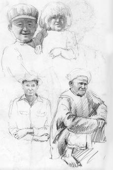 sketch book entries