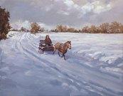 Brittany Snow, Acrylic on canvas
